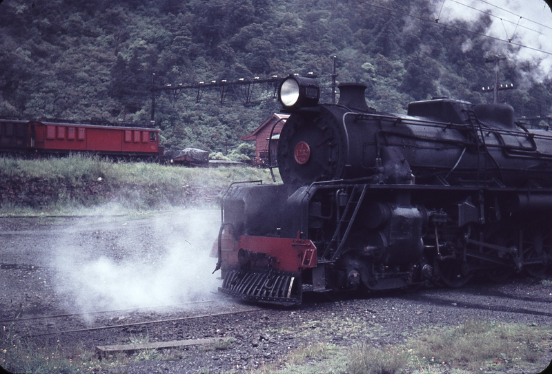 103772: Otira Up Express J 1232 and Eo 4 background