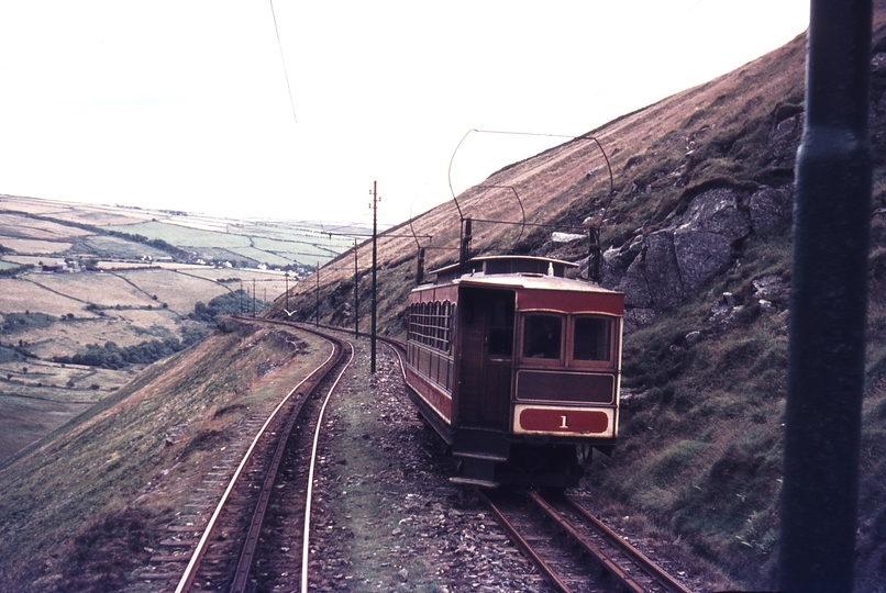 111281: Snaefell Mountain Railway IOM No 1 Ascending