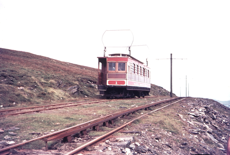 111285: Snaefell Mountain Railway Snaefell Summit IOM No 1 Ascending