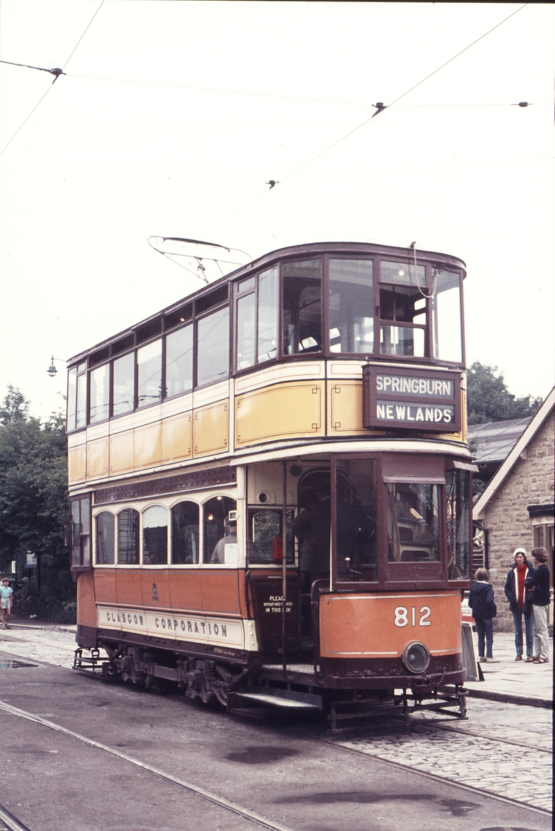 111378: Crich DBY Tramway Museum Glasgow 812