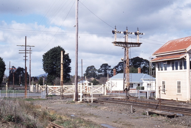 117329: Linton Junction Looking towards Melbourne