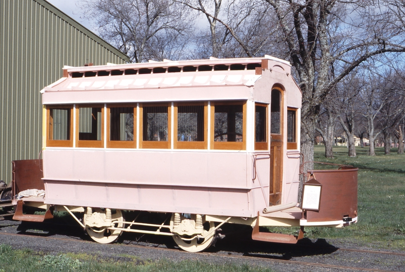 117334: Ballarat Tramway Museum Depot Horse Car No 1 under restoration