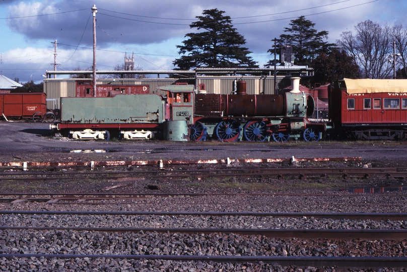 117350: Ballarat East Locomotive Depot D3 608