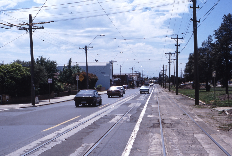 117395: St Georges Road at Ballantyne Street Looking North