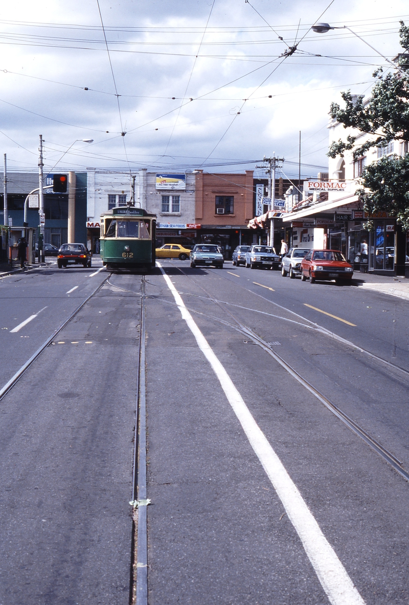 117415: Glenferrie Road at Cotham Road Y1 612
