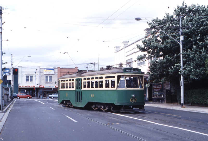117417: Glenferrie Road at Cotham Road Southbound Y1 612