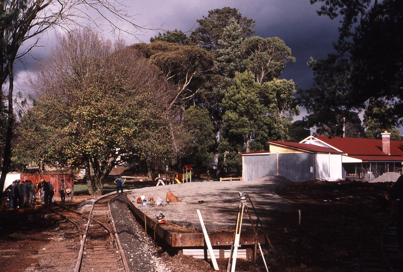 122595: Gembrook Town Station looking towards End of Track