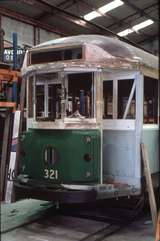 125356: Museum of Transport and Technology Melbourne W2 321 under restoration