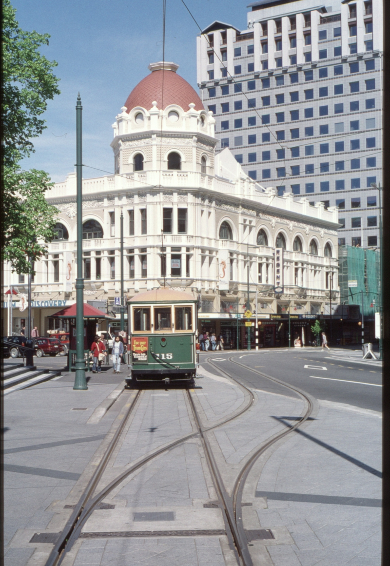 125763: Christchurch Tramway Cathedral Square Loop (152), 115