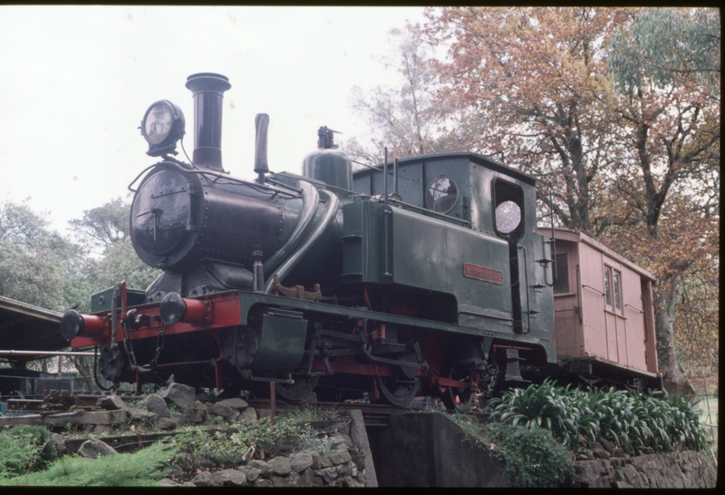 127485: Puffing Billy Preservation Society Museum Menzies Creek Abt No 5