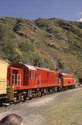 131633: Hindon Taieri Gorge Railway Passenger to Middlemarch De 504 Dj 1240