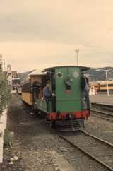131718: Dunedin Shuttle to Otago Early Settlers Museum A 67 leading