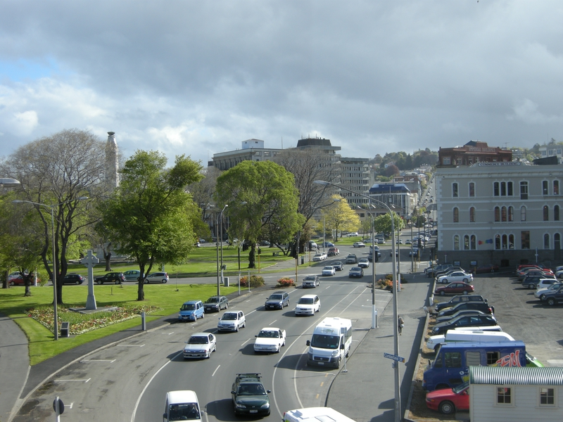 201541: Dunedin Gardens viewed South from Leviathan Hotel