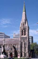 400877: Christchurch South Island NZ Christchurch Cathedral