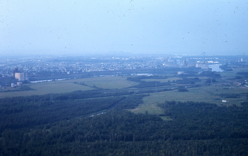 401178: Thunder Bay ON Canada viewed from Mount Mackay